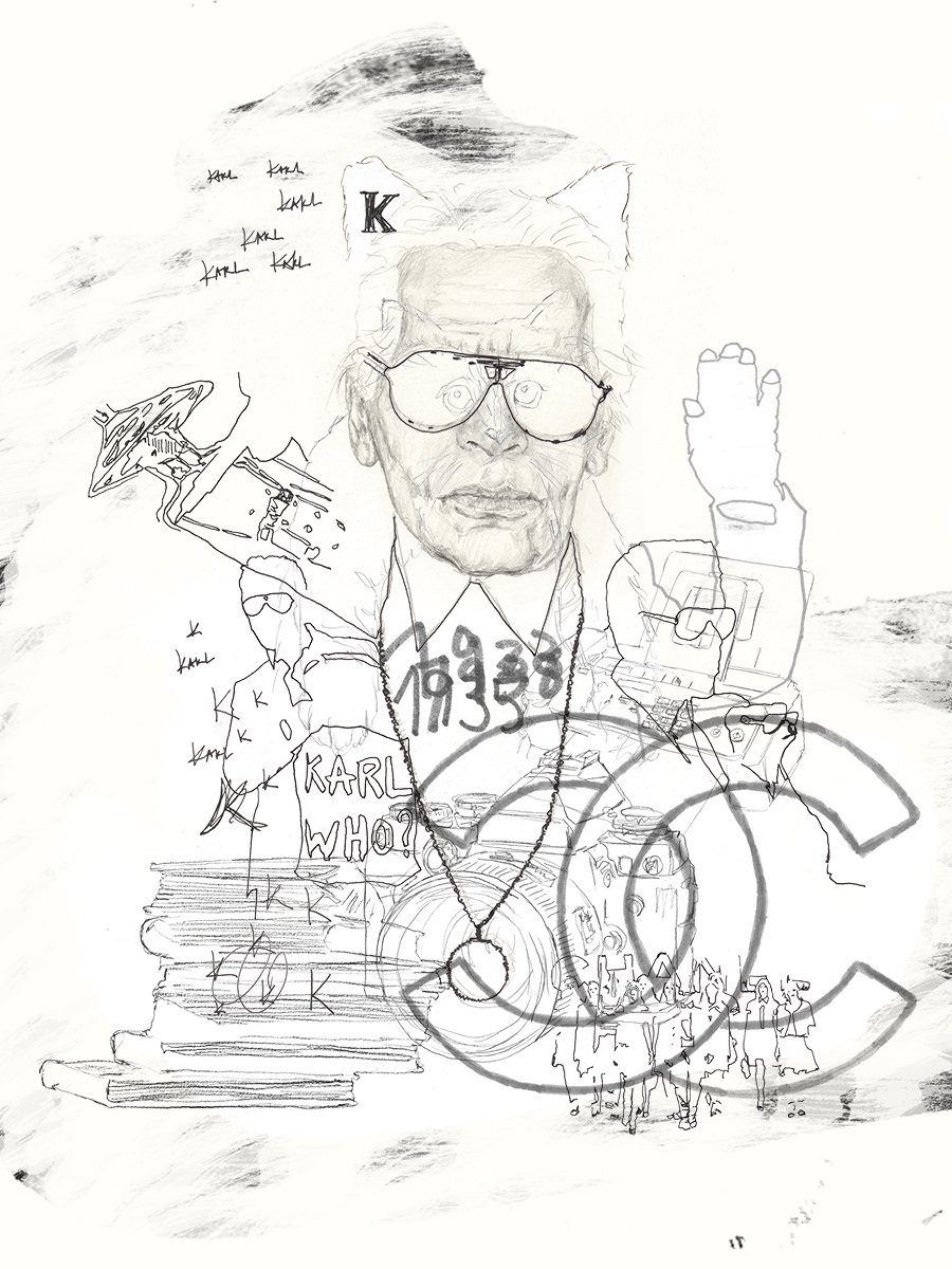 JuliaPieper_KarlLagerfeld_Drawing